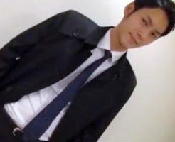 【ゲイ動画 pornhub】ガチでイケメンなリーマンが営業の途中で抜け出しゲイビデオに出演www