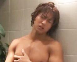 【ゲイ動画 pornhub】こんなセックスしてみたい!イケメンマッチョなキムタク似の男の子が水中ゲイSEX!風呂場でセクシーオナニー披露!