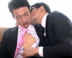 【ゲイ動画 pornhub】27歳のノンケイケメンがソフトなゲイセックスで疲れを癒す!初めての撮影にドキドキしながらも吐息を漏らす・・・