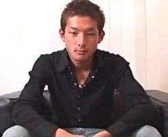 サッカーの中田にそっくりな22歳ノンケイケメンがアナルファック初体験でぶっかけられる