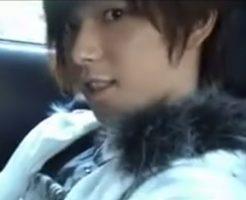 【ゲイ動画 pornhub】ジャニ系イケメンのハメ撮り!車の中でびんびんになったちんこを弄りそのままアナルファック!