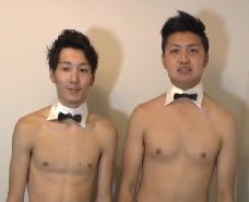 【ゲイ動画】正装?して愛し合い!キスから体中を舐め回し、ケツ穴愛撫に互いの肉棒をしゃぶり合うw