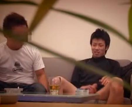 【ゲイ動画】ゲイビデオ出演に面接に来たノンケ素人を監督がつまみ食いする様子を隠しカメラが盗撮w