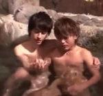 最高のイケメンカップルによる最高のBL行為!温泉でイチャついた後、火照った体のまま激しくアナルセックスへ!