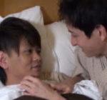 旅先で朝を迎えるイケメンカップル!寝起きにイチャイチャしながら朝勃ちちんこをしゃぶり合い、すっきりしてから朝風呂へw【無修正ゲイ動画】